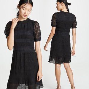 NWT Anthropologie Velvet Rochana Georgette Dress